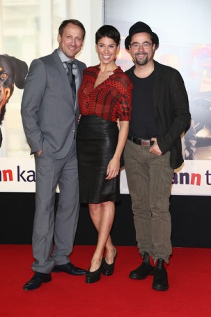 Am 11. Oktober startete der Film 'Mann tut, was Mann kann' in den Kinos. Am Abend zuvor war große Premiere in Berlin.