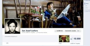 Die Facebook-Fangemeinde wächst im August auf 10 000.