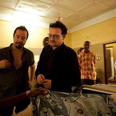 Ein guter Start ins Jahr. Im Januar brachen Jan und Anna mit Bono für ONE nach Ghana auf, um die Milleniumsdörfer zu besuchen.