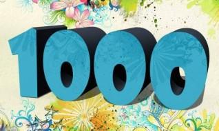 Ende Oktober dürfen wir 1000 Fans auf unserer Facebookseite begrüßen.