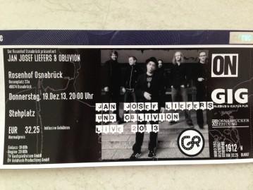 2013-12-19 Daniela beim Konzert in Osnabrück