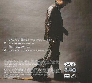 Cover Jacks Baby Rückseite