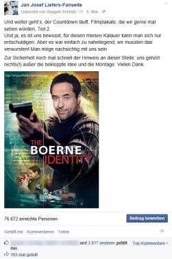 9. Mai: nicht nur wir hatten Spaß am Plakatcountdown zum Deutschen Filmpreis 2014 (Alle Plakate: https://janjosefliefers-fanseite.com/2014/05/10/kleiner-nachschlag-zum-lola-plakatcountdown-und-dann-ist-schlus-versprochen-d/)