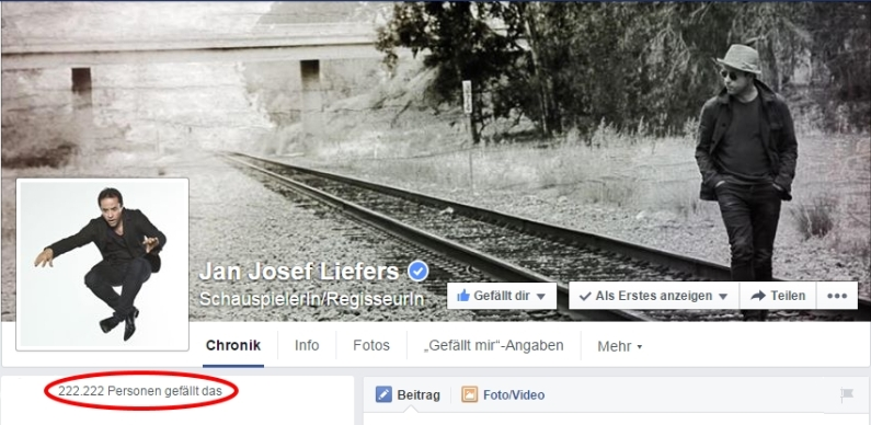 Die Schnapszahl von 222.222 auf der FB-Seite von Jan haben wir mit einem kleinen Video zelebriert ;-) https://videos.files.wordpress.com/K6addvwz/222222-likes_dvd.mp4