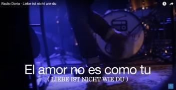 """Am 21. Januar ist die Videopremiere von""""Liebe ist nicht wie du""""."""