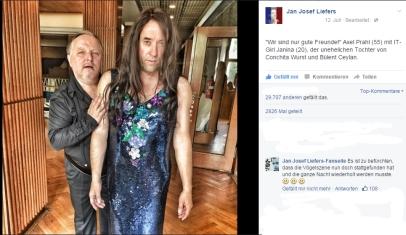 Das Foto von IT-Girl Janina und Axel sorgt für Spass und viele Kommentare im Netz