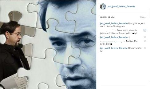 Seit dem 27. Juli sind wir auch auf Instagram vertreten. Schaut doch mal vorbei! https://www.instagram.com/jan_josef_liefers_fanseite/