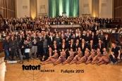 200 Komparsen durften Ende November für zwei Tage mit dem Tatort Münster-Team in den Sartorysälen in Köln drehen
