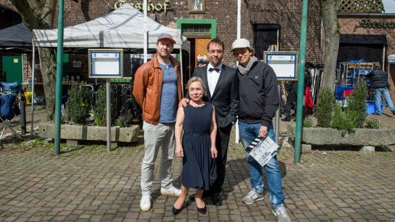 """Am 4.4. starteten die Dreharbeiten zur Münsteraner Jubiläumsfolge """"Feierstunde"""""""