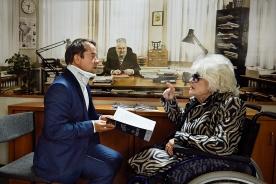 Jan Josef Liefers & Siegrid Marquardt   ©2016 Edith Held / DOR FILM-WEST, Four Minutes Filmproduktion, DOR Film