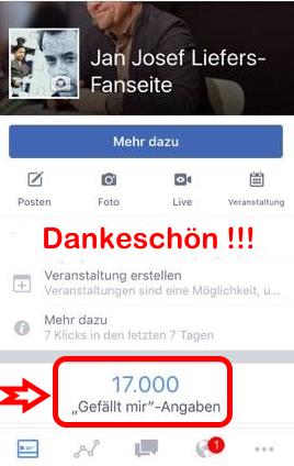 10.000 neue Freundinnen und Freunde für die Fanseite und das genau zwischen zwei Tatort Münster Drehs. Wenn das kein gutes Zeichen ist ...