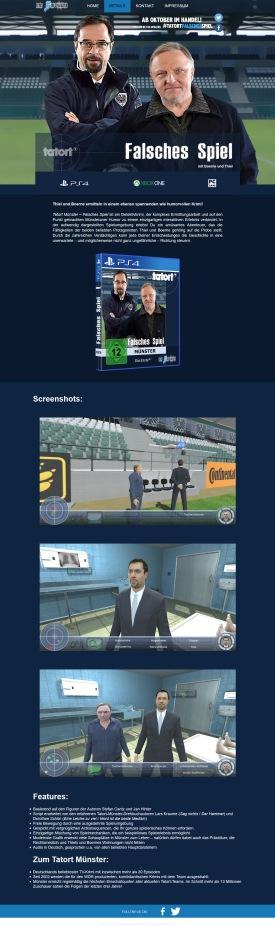 Spiel-Seite - Details