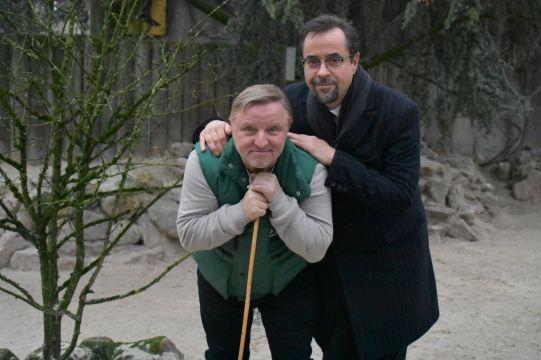 Pressetermin im Zoo - Quelle: Allwetterzoo Münster auf Facebook (https://www.facebook.com/allwetterzoo/posts/10159608558060263)