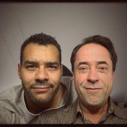 Fototermin und Stellprobe für 'Arthurs Gesetz'. Foto: Michael Klammer auf Instagram (https://www.instagram.com/p/BZG8NC0FZlu/)