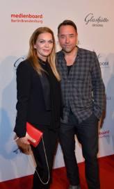 Anna und Jan eine Woche später (und deutlich kürzer am Kopf) auf der Berlinale. Hier beim Medienboard Berlin Brandenburg. (Foto: MBB auf Facebook)