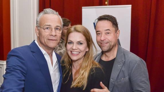 Drei Kommissare bei der WDR Happy Hour. Foto: WDR
