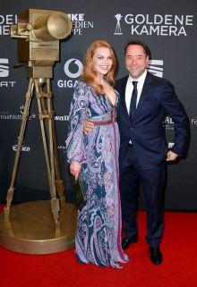 Ein weiteres großes Event Anfang des Jahres: die Goldene Kamera. Jan und Anna strahlen auf dem Roten Teppich. Foto: MBB auf Facebook