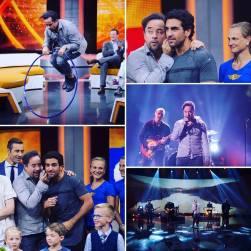 """Eine schöne Sendung: Jan kämpft und singt am 2. September bei """"Klein gegen Groß"""". Foto: Jan Josef Liefers"""