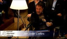 Am 06.03. wird Jürgen Flimm von der Konrad Adenauer-Stiftung geehrt. Jan Josef Liefers liest ihm zu Ehren Thomas Mann.