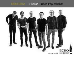 Am 08.03. wurde Radio Doria für einen Echo nominiert. Glückwunsch!!