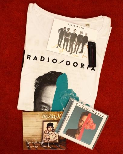 Dank Radio Doria konnten wir auch dieses Jahr wieder pünktlich zu Weihachten 5 tolle Fanpakete verlosen
