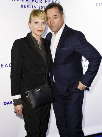 "Anna und Jan bei ""Cinema for Peace"". Foto: Picture Alliance. Link: https://www.bz-berlin.de/media/liefers-loos_1550162264"